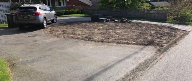 soil, pavement, garden